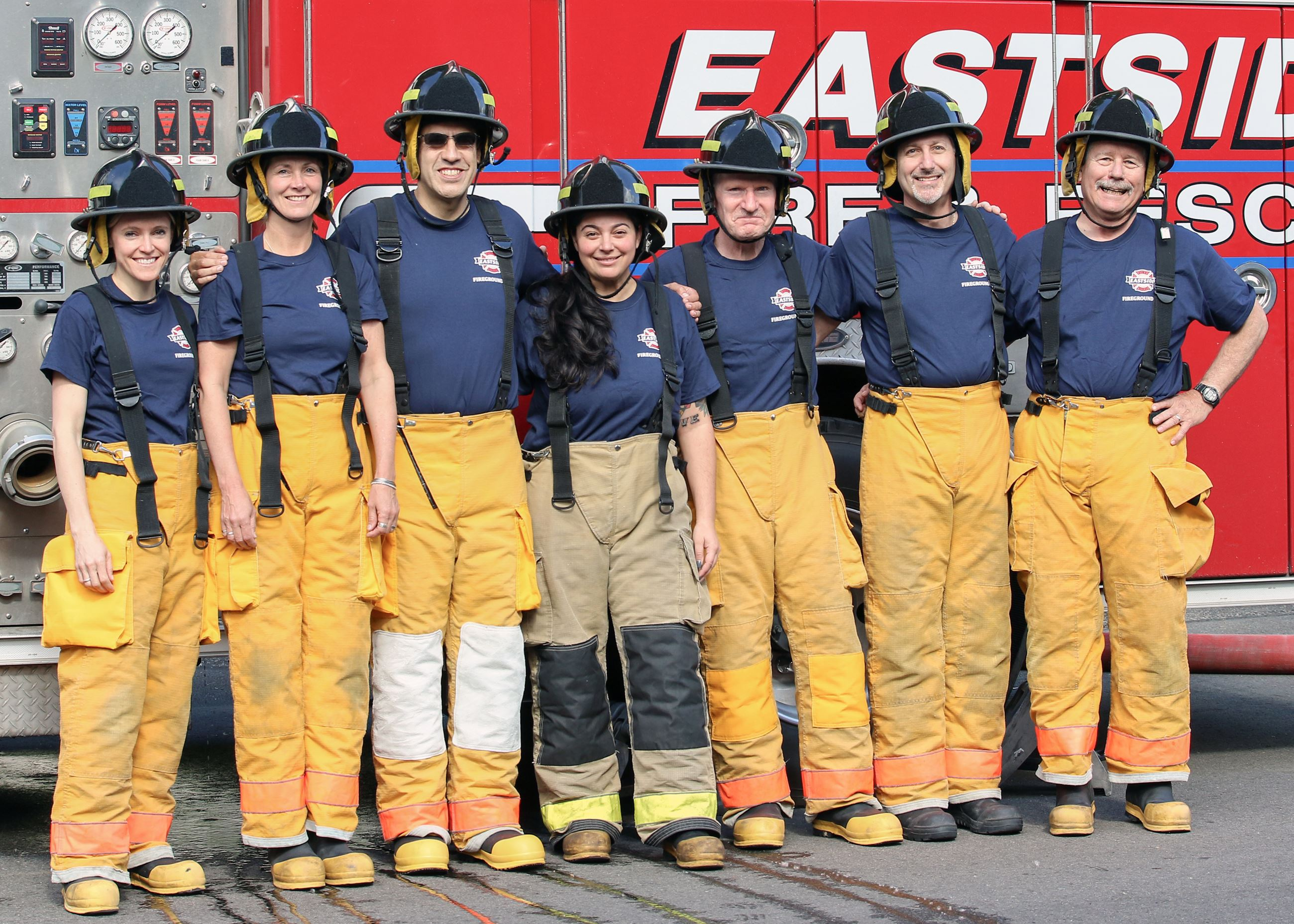 Fireground 101 Participants