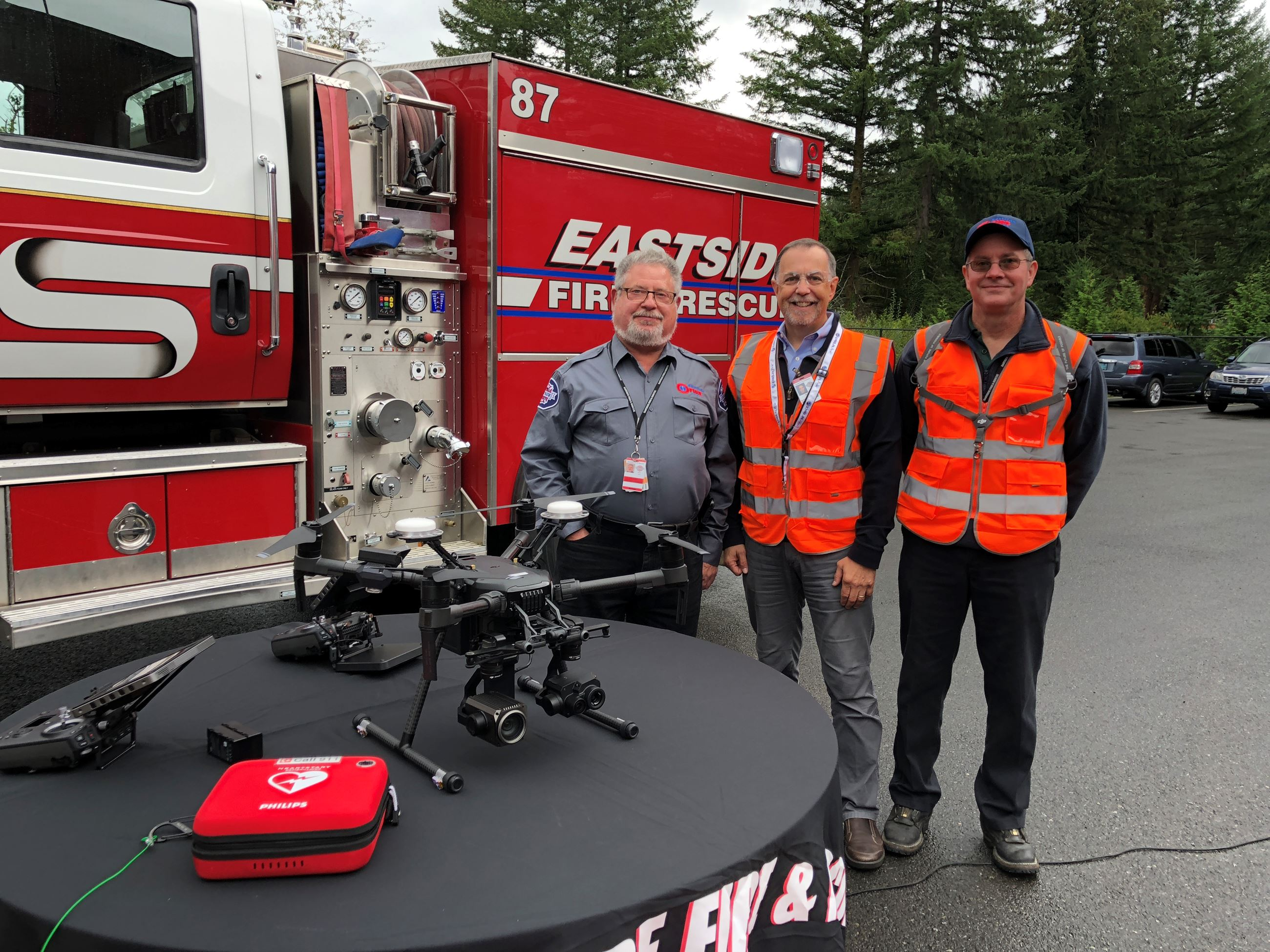 Fire Corps Certified Drone Pilots